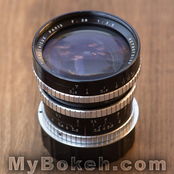 Angenieux 28mm f/3.5 Retrofocus Lens