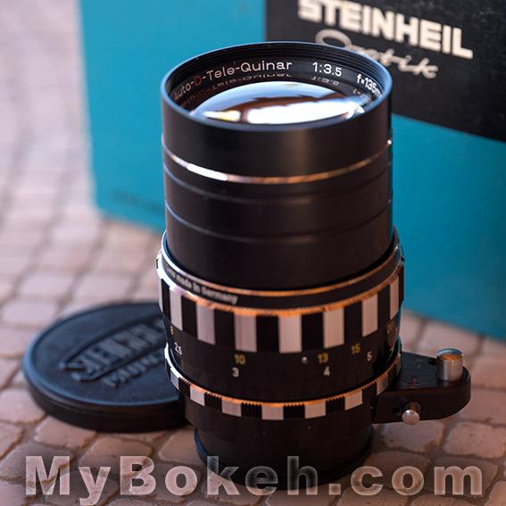 Steinheil AUTO-D-TELE-QUINAR 135mm f/3.5