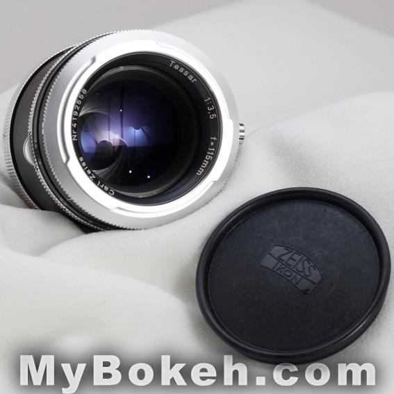 Carl Zeiss TESSAR 115mm f3.5 Lens